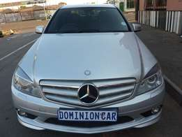 2008 mercedes benz C200 kompressor automatic for sale at R160000