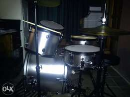 Silver Jinbao drumset for sale