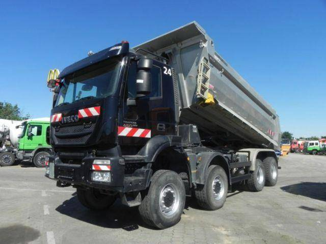 Iveco TRACKER AD450TW 4 Achs Muldenkipper 8x8 AK - 2014