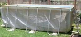 Bestway rectangular frame pool. 414cm x216cm x 100cm