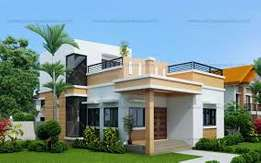 Two bedroom self compound for rent at adenta foster home junction ABB