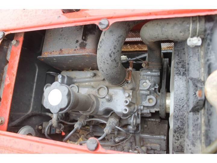 Shibaura P15F 4WD Mini Tractor Met Weidesleep En Schuif - image 24