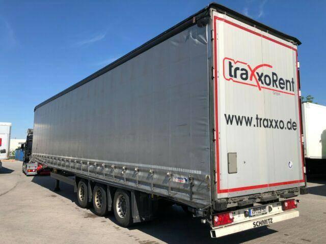 Schmitz Cargobull SCS 24/L 13.62 MEGA VARIOS Liftachse Edscha - 2016