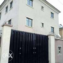 Newly built house- 6units of 3bedrooms Yaba-Lagos for sale with R/Conv