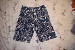 Patterned Beach Shorts