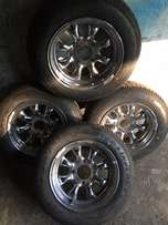 very rare cyclone mags 13s with brand new tires