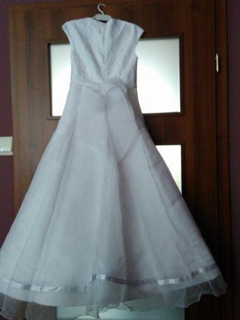 056c0376a4 Archiwalne  Piękna sukienka komunijna plus GRATIS dodatki Wałbrzych ...