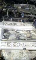 Engine for Mitsubishi rvr on sale for parts complete with gearbox and
