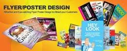 We produce Posters,Flyers,books, newspapers, magazines, etc.