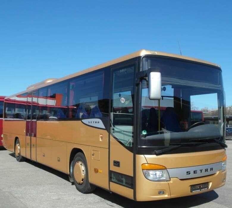 Setra S 415 Ul/euro 5/klima/52 Sitze/tüv Neu/top Bus - 2008