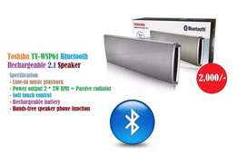 New very loud portable Toshiba Bluetooth Rechargeable 2.1 Speaker