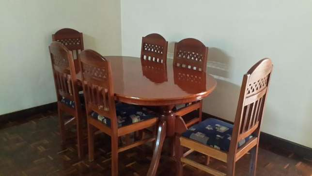 Dining Table 6 Seater Westlands - image 2