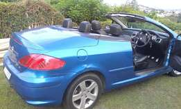 Peugeot 307cc Convertible Drop Top First Come Basis R45000 or swop