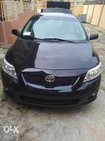 AWOOF 2009 Tokunbo Toyota Corolla with Low Mileage