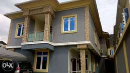 Newly built executive 3 bedroom duplex at omole phase 2
