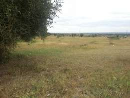 60 acres touching main mombasa road at 25M per acre.