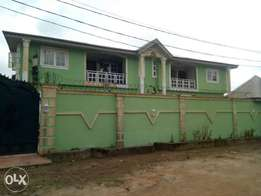 A newly built and furnished 2bedroom flat at shagari Est. Ipaja Lagos.