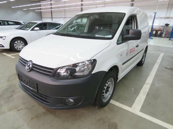 Volkswagen Caddy Kasten SORTIMO PDC Klima - 2014