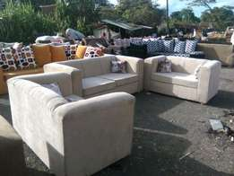 6 seater fabric sofa