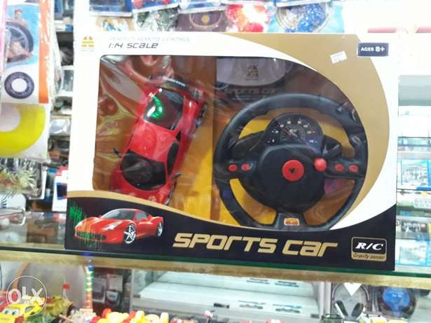 Remote control car for kids saund light