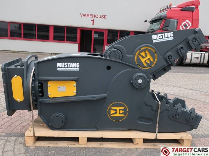 Mustang Hammer RH25 Rot.Crusher Pulverizer Shear 20~26T