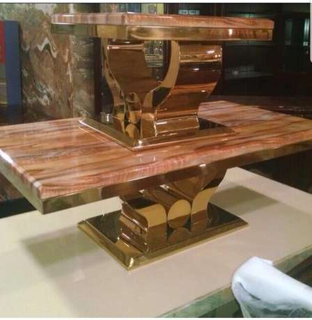 Marble centre table 1+2 set Ikeja - image 1