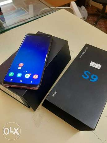 Samsung S9 with box and all accessories original with warranty