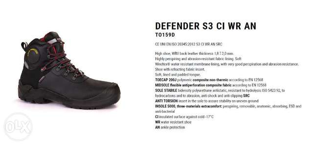 DEFENDER Safety Shoes Giasco Italy