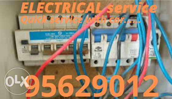For any electric issue you contact us whenever you face any time