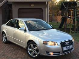 2006 Audi A4 2.0T - Red T 147kw