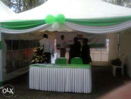 Outside catering and decoration service.