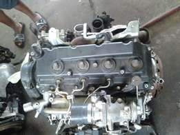 Toyota Hilux 3.0 D4d engine in stock