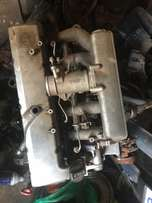 Mercedes 312D engine for stripping
