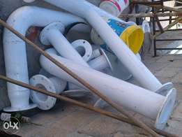 selling mild steel pipes all for 700