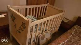 Baby Cot Bed -Cheap Quick Sale