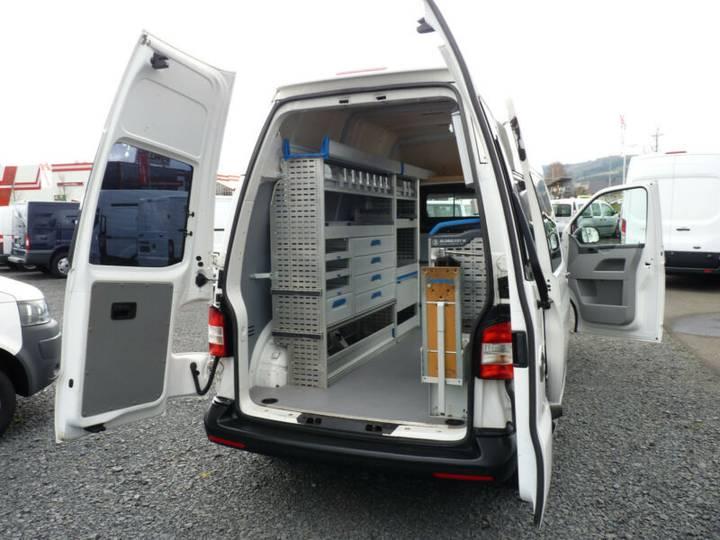 Volkswagen T5 Kasten Werkstatt Standhzg Klima - 2013