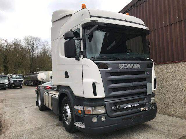 Scania R420 - MANUAL GEARBOX - 2007