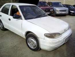 1995 Hyundai KAG 1500cc manual. Runs smoothly still !!
