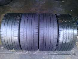 255/35/R18 on special for sale each tyre R750