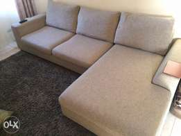QUICK SALE!!! L-Shaped SOFA (imported)