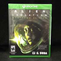 XBOX ONE : Alien Isolation NOSTROMO EDITION ( SEALED - never used )