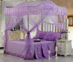 Canopy /Curved metallic Mosquito Nets
