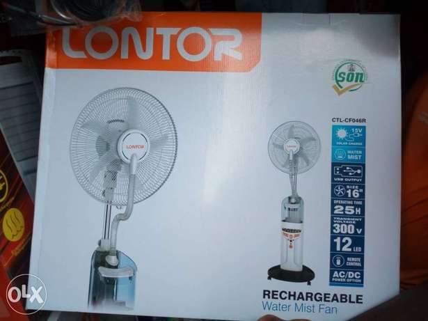Lontor rechargeable water fan Ijeshatedo - image 1