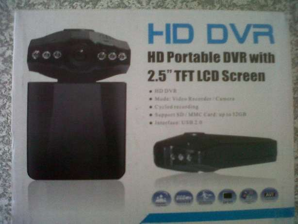 HD Portable Dash Cam DVR with 2.5'' TFT LCD screen (Brand New) Port Elizabeth - image 7