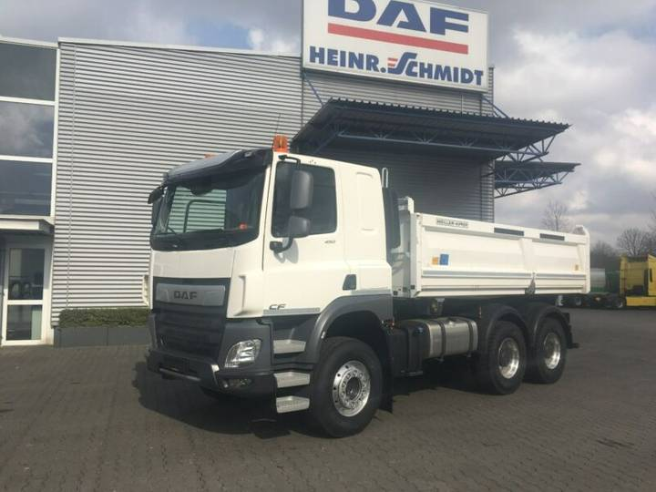 DAF CF FAT Construction mit Meiller DSK316 Bordmatik - 2018