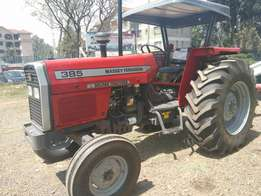 MF385,2WD,with free plough and warranty.