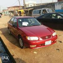 Very Clean Registered Toyota Corolla - 2001