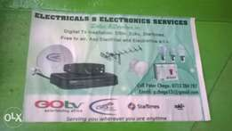 electricals and electronics sales and services