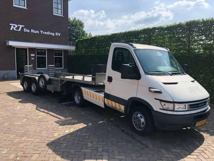 Iveco 40C14 BE Trekker + Veldhuizen kuip trailer - 2007