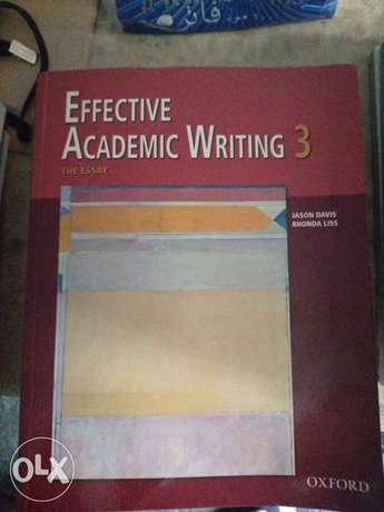 Effective Academic writing 3 for 5000